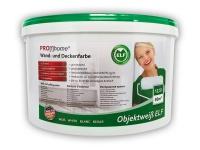 Wandfarbe PROFHOME Objektweiß Innenfarbe Farbe hochergiebig gut deckend matt weiß ELF   12, 5 Liter Eimer für max. 85 qm