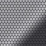 Mosaik Fliese massiv Metall Edelstahl marine hochglänzend in grau 1, 6mm stark ALLOY Penny-S-S-MM 0, 88 m2