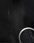 Wandpaneel Platte 3D Wandverkleidung WallFace 13826 CROCONOVA Design Blickfang Dekor selbstklebende Tapete schwarz | 2, 60 qm