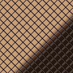 Mosaik Fliese massiv Metall Titan hochglänzend in kupfer 1, 6mm stark ALLOY Diamond-Ti-AM 0, 91 m2