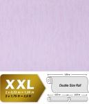 Uni Vliestapete EDEM 908-05 Tapete in XXL geprägte Stuktur Sanfte Eiscremefarbe pastell-lila flieder 10, 65 qm