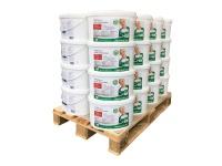 Wandfarbe PROFHOME Objektweiß Innenfarbe Farbe hochergiebig gut deckend matt weiß ELF | 1 Pal. 400 Liter für 2560 qm
