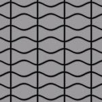 Mosaik Fliese massiv Metall Edelstahl matt in grau 1, 6mm stark ALLOY Kismet & Karma-S-S-MA Designed by Karim Rashid 0, 86 m2