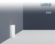 Türumrandung Orac Decor D340 AXXENT Sockelleiste Wandleiste Zeitloses Klassisches Design weiß 2m