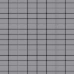 Mosaik Fliese massiv Metall Edelstahl matt in grau 1, 6mm stark ALLOY Bauhaus-S-S-MA 1, 05 m2