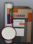 EDEM 204-40 Dekorative Struktur Schaum-Tapete rauhfaser weiß putz optik | 71 qm - 1 Kart. 9 Rollen