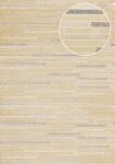 Stein-Kacheln Tapete Atlas ICO-5076-5 Vliestapete glatt in Steinoptik schimmernd beige creme-weiß bronze 7, 035 m2