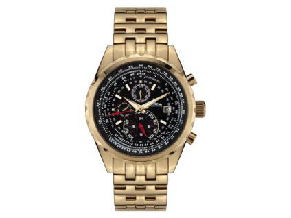 Richtenburg Herrenuhr Stahlfighter Gold IP R10900
