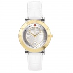 Chrono Diamond Damenuhr Ilka Gold IP Silber 12810C