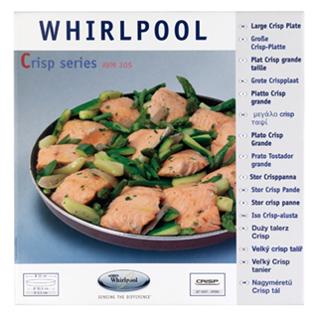 Whirlpool Crisp-Platte groß (Ø30,5cm) AVM305 - Vorschau