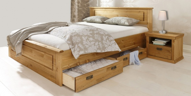betten kiefer doppelbett g nstig kaufen bei yatego. Black Bedroom Furniture Sets. Home Design Ideas