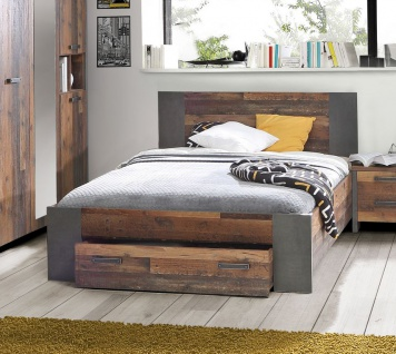 bett vintage g nstig sicher kaufen bei yatego. Black Bedroom Furniture Sets. Home Design Ideas