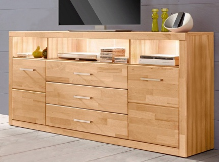 kommode sideboard kernbuche g nstig online kaufen yatego. Black Bedroom Furniture Sets. Home Design Ideas