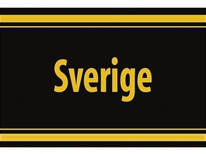 """1 x SAFE 1130 SIGNETTE Aufkleber selbstklebend """" Sverige """" Schweden"""