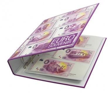 """SAFE 3101 """" 0 """" Euro Souvenir Vordruckalbum Banknotenalbum + 30 Vordruckseiten + Hüllen für alle deutschen Scheine 2015 / 2017 - Vorschau 3"""