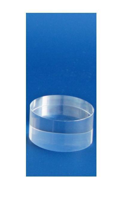 """SAFE 5213 ACRYLGLAS Deko Präsentations Säule Universal """" S """" Durchmesser 50 mm Höhe 25 mm - Für all die kleinen Schätze von A - Z"""