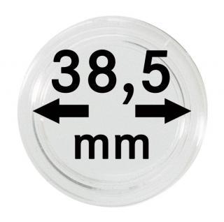100 LINDNER Münzkapseln / Münzenkapseln Capsules Caps 38, 5 mm 1 Unze Meaple Leaf 2251385