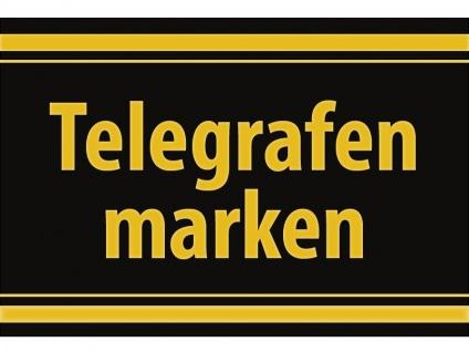 """1 x SAFE 1130 SIGNETTE Aufkleber selbstklebend """" Telegrafenmarken """""""