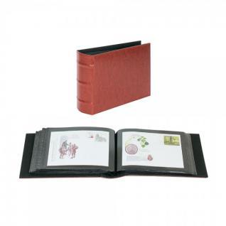 LINDNER 812-R Firmo Universal Album Sammelalbum Rot 190 x 130 mm Für 108 Briefe FDC Postkarten Ansichtskarten Banknoten Geldscheine