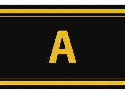 """1 x SAFE 1130 SIGNETTE Aufkleber Buchstabe selbstklebend - """" A """""""