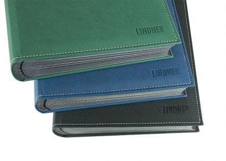 Lindner 1195-S Briefmarkenalbum Einsteckbücher Einsteckbuch Diamant Schwarz 60 schwarze Seiten klare Streifen + klare Folien ZWL - Vorschau 3