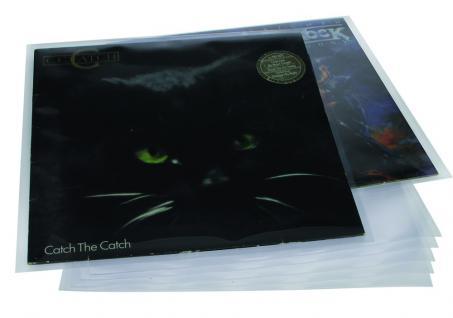 "5 x SAFE 222 Hüllen Schutzhüllen Schallplatten Vinyl LP Schlellack Platten Langspielplatten 33"" - Vorschau 1"