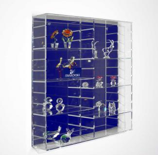 SAFE 5230 Velours-Rückwand Dunkelblau Blau für die Präsentations - Vitrinen 5211 & 5212