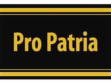 "1 x SAFE 1130 SIGNETTE Aufkleber selbstklebend "" Pro Patria """