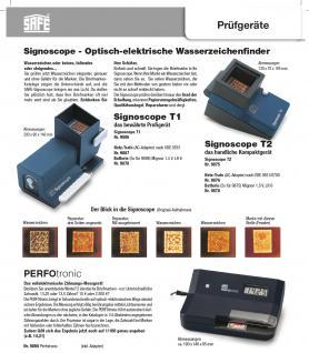 SAFE 151-4 Briefmarken Einsteckbücher Einsteckbuch Einsteckalbum Einsteckalben Album Blau wattiert 60 weissen Seiten - Vorschau 4
