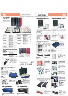 SAFE 110-1 Briefmarken Einsteckbücher Einsteckbuch Einsteckalbum Einsteckalben Album Weinrot - Rot 16 weissen Seiten - Vorschau 3