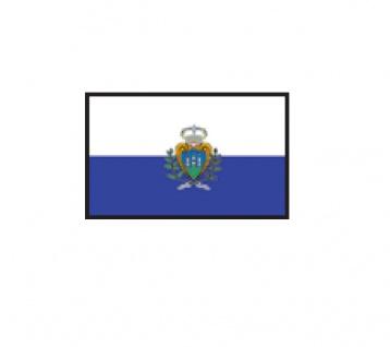 1 x SAFE 1175 SIGNETTE Flagge San Marino Aufkleber Kennzeichnungshilfe - selbstklebend