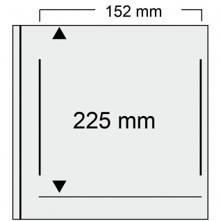 SAFE 525-6 Hellbraun - Braun Universal Album Ringbinder + 10 Hüllen - 1 Tasche 152 x 225 mm Für DIN A5 & ETB's Ersttagsbriefe - gr. Briefe - Banknoten - Vorschau 2