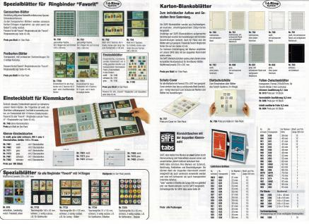 SAFE 1508 Leder Ringbinder Album FAVORIT mit 14 Ring-System Weinrot - Rot Für Briefmarken - Blocks - Banknoten - Postkarten - Vorschau 4