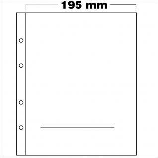 10 x SAFE 7389 PREMIUM Münzblätter Folder Für Euro Blister bis 170x170 mm Ideal für 10 & 20 Euromünzen
