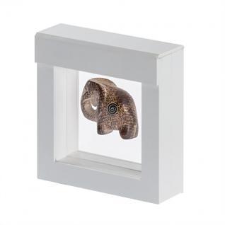 LINDNER 4850 NIMBUS 70 Weiss Sammelrahmen Schweberahmen 3D 70x70x25 mm Für Glas Holz Metall Miniaturen Figuren - Vorschau 1