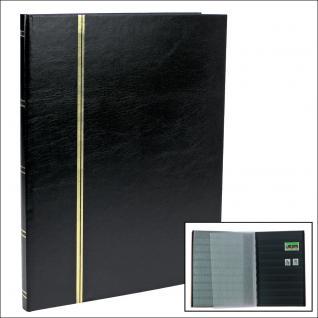 SAFE 158-5 Briefmarken Einsteckbücher Einsteckbuch Einsteckalbum Einsteckalben Album Schwarz 16 schwarze Seiten