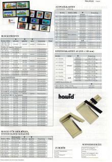 100 x HAWID HA 541000 DIN C6 Auswahlkarten Einsteckkarten 158 x 113 mm 3 Streifen - Vorschau 5