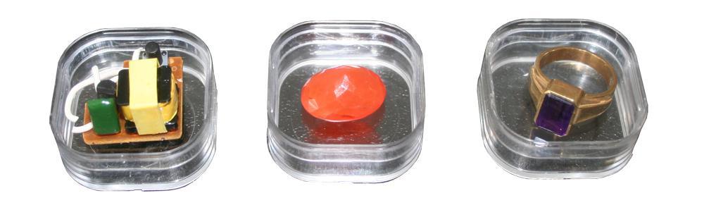 1 x SAFE 4531 SCHWEBEDOSEN Schwebe-Dosen Box 3D Glasklar 56x56x25 mm Groß - Für Perlen Mineralien Fossilien Edelsteine - Vorschau 2