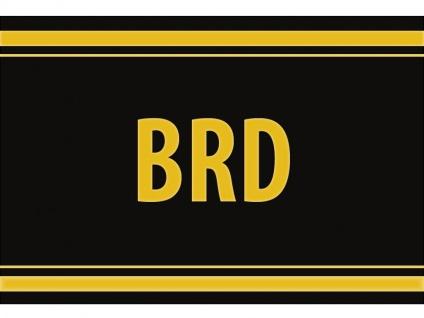 """1 x SAFE 1130 SIGNETTE Aufkleber selbstklebend """" BRD """""""