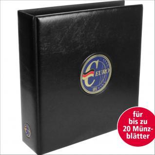 SAFE 7363 PREMIUM MAXI Euro Deutschland MÜNZALBUM extra Breit (leer) für bis zu 20 Münzblätter und Vordruckblättern