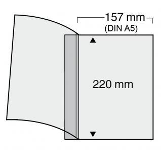 5 x SAFE 7877 Compact Ergänzungsblätter 157x220mm DIN A5 glasklar Jahresgaben des BDPh