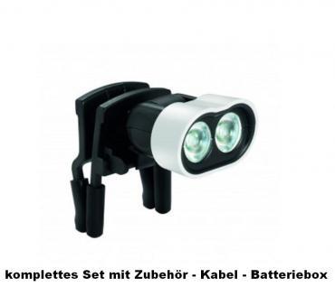 ESCHENBACH 162451 Lupenbrille MAX Detail 2 fache 3 Dpt + Eschenbach 16042 Headlight LED Beleuchtung - Vorschau 4