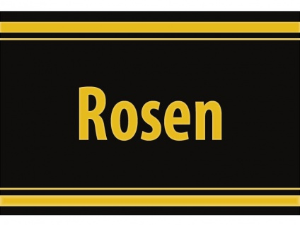 "1 x SAFE 1130 SIGNETTE Aufkleber selbstklebend "" Rosen """