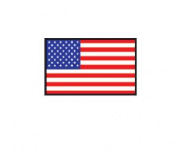 1 x SAFE 1175 SIGNETTE Flagge USA - Vereinigte Staaten von Amarika - United States of America Aufkleber Kennzeichnungshilfe - selbstklebend - Vorschau 1