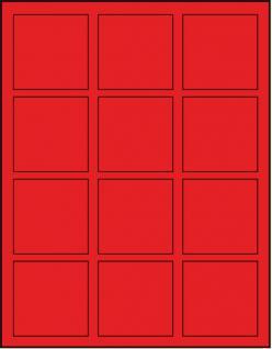 Lindner 2812 D-box Münzboxen Sammelboxen für 12 Münzen 66 x 66 x 22 mm hellrot Standard Grau