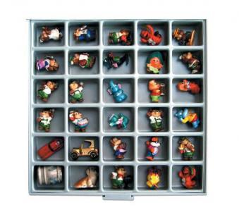 SAFE 6196 BEBA Sammelschubladen / Sammelboxen 30 Fächer 40x50x30 mm 3 Fach Tief für Ü Eier Figuren