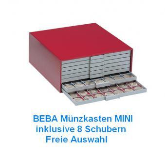 SAFE SET 6200 BEBA Münzkasten MINI befüllt mit 8 Schubladen Schubern Freie Wahl