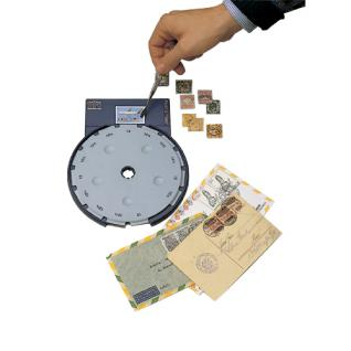 SAFE 9820 Perfometer Zähnungsmessgerät Zähnungsmeßgerät für Briefmarken - Briefe - Karten