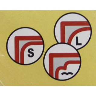 SAFE 847 Eckenrunder W Wellenförmig zum Abrunden von Blättern Fotos Folien Papier Pappe Laminate - Vorschau 2