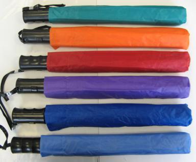 POINT Lila Flieder Lady Like Damen Regenschirme Knopfdruck Automatik 93 cm in 6 Farben - - Vorschau 3